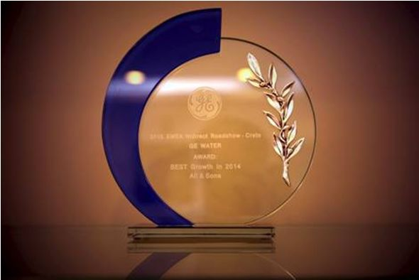 GE W&PT award for Best Growth